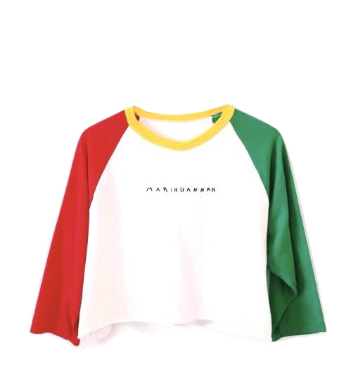 All good crop tee